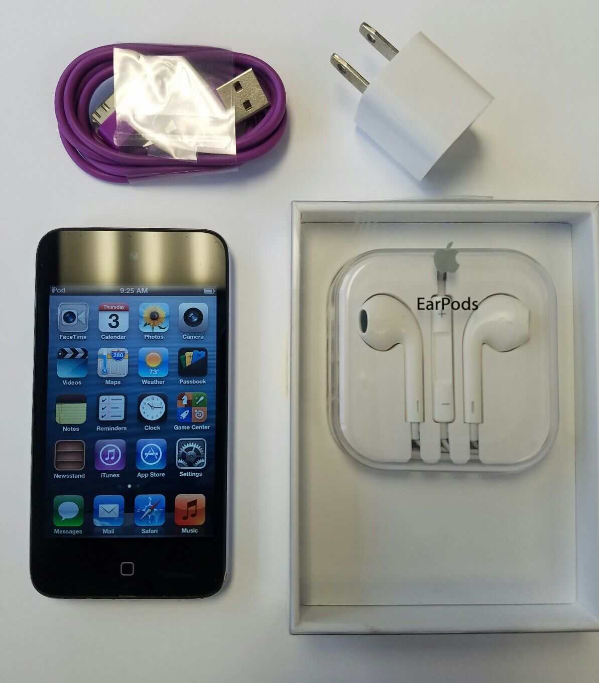 Apple Ipod Touch 4th Generation Black (8gb) W/ Md827ll/a ...