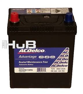 ACDelco ADV Sm Car Battery 42B19RS NS40ZS 360CCA suit Echo Gemini