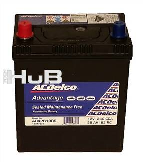 Sm Car Battery suit Echo Gemini NS40ZS 360CCA ACDelco ADV 42B19RS