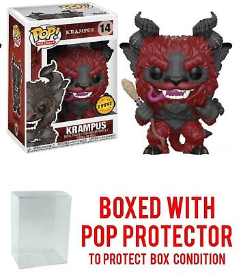 Funko Pop  Holidays Krampus Vinyl Figure Chase  14 In Stock With Protector