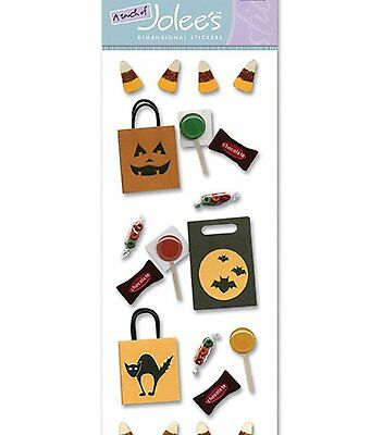 Trick or Treat Bag  A Touch of Jolee's Dimensional Stickers Halloween SBJJ013