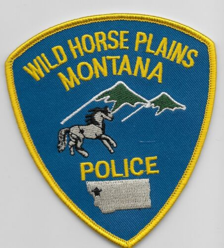 Wild Horse Plains Police State Montana MT