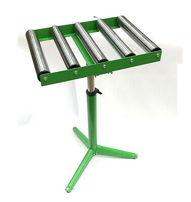 Wadkin Bursgreen Roller Stand 5 X 50mm Dia -stable 3 Leg Design Holds 80kg