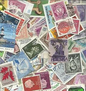 500 timbres different monde tous pays stamps world off paper - France - 500 timbres different monde tous sans papiers - France