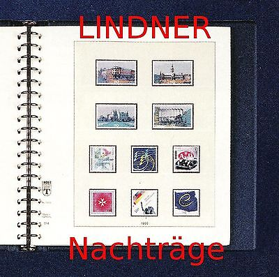 Lindner doppel-T Nachtrag 2017 Bundesrepublik Deutschland / BRD NEU!!!