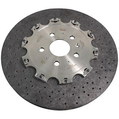 22958647 Brembo Carbon Ceramic Rear Brake Rotor 15 1 2  2014 15 Chevy Camaro Z28