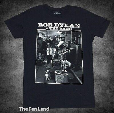 Bob Dylan New T-shirt - New Bob Dylan & The Band The Basement Tapes 1975 Mens Vintage T-Shirt