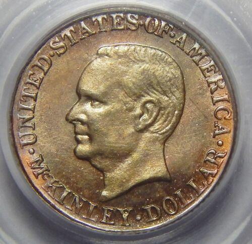 1916 PCGS MS63 McKINLEY GOLD DOLLAR COMMEMORATIVE