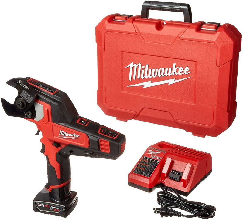 Milwaukee 2472-21-XC M12™ 600 MCM Cable Cutter Kit (New)