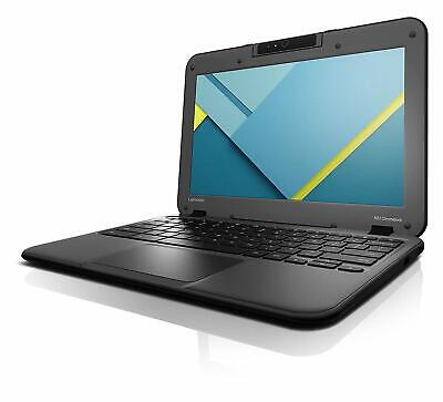 "Lenovo N22 11.6"" HD Google Chromebook Intel 16GB SSD Wifi Webcam Bluetooth HDMI"