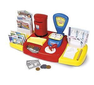 Casdon Post Office Set Childrens Kids Role Play Activity Toy With Accessories