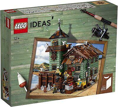 Lego Ideas 21310 OLD FISHING STORE Bait Shop Seagull Fisherman Sea Captain NEW