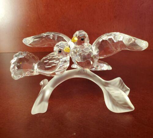 Swarovski Crystal Turtle Doves #657378