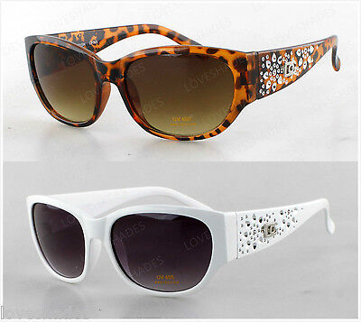 New DG Sunglasses Bling Fashion Desginer Eyewear Womens Shades Brown Black - Bling Eyewear