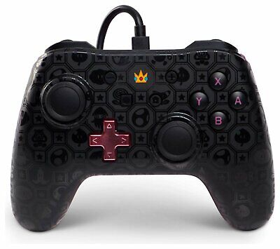 Wired Ergonomic Controller for Nintendo Switch - Princess Peach Shadow
