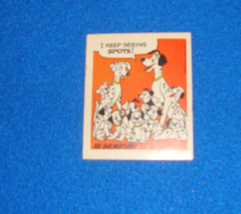 Vintage Disney 101 Dalmatians Sticker Unused