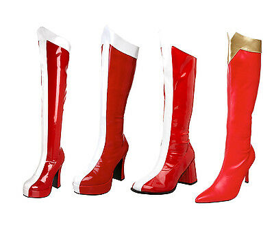 FUNTASMA ELECTRA2090 EXOTICA305 GOGO305 WONDER130 Wonder women Super Hero Boots](Wonder Women Boots)