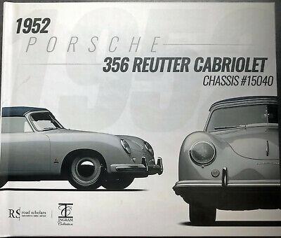 1952 Porsche 356 Reutter Cabriolet Chassis #15040