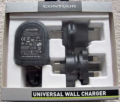 NEW CONTOUR CAMERA - UNIVERSAL WALL CHARGER ADAPTER - #2450 for sale  Shipping to India