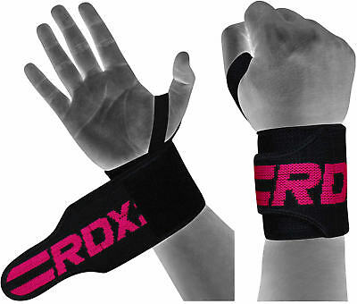 RDX Women Wrist Wraps Training Weight Lifting Ladies Gym Straps Support Grip W2P