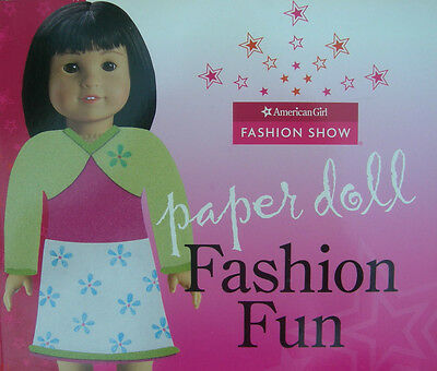 FREE US SHIPPING American Girl Fashion Show Paper Doll Fashion Fun Booklet Book