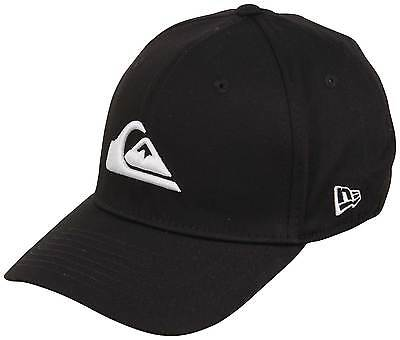 Quiksilver Mountain and Wave Black Hat - White - New Quiksilver Black Hat