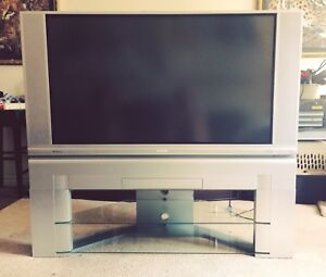 """50"""" Hitachi Tv with Stand"""