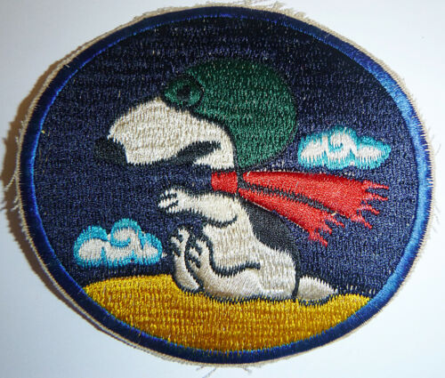 PATCH - SNOOPY OPS - RED BARON - FLYING ACE - USAF 20th TASS - Vietnam War, 4124