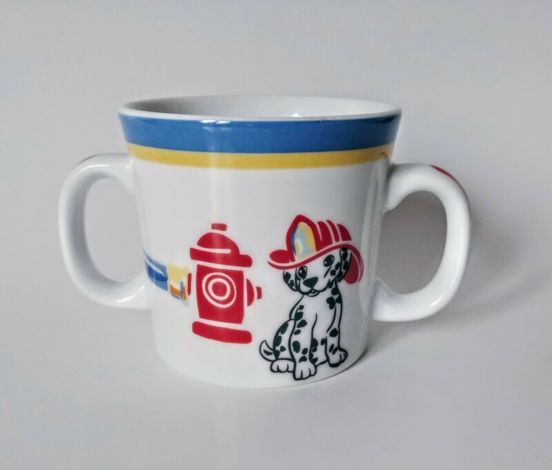 Tiffany Fire Station 2005 Infant Mug Cup With Handles
