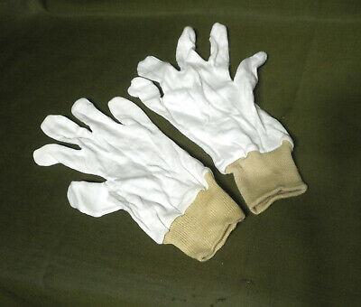 NVA Einziehhandschuhe zum ABC Schutzanzug, weiss, unbenutzt