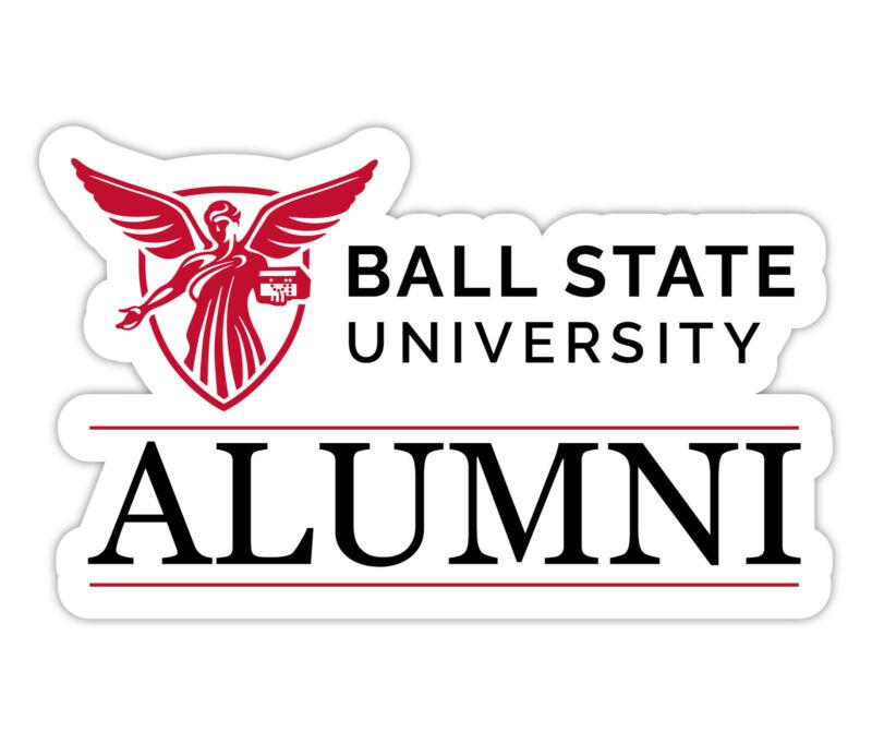 Ball State University 4-Inch Laser Cut Alumni Vinyl Decal Sticker