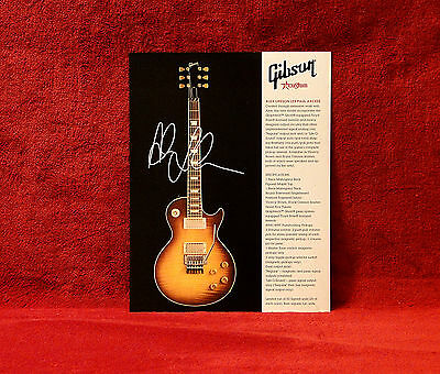 RUSH<<>>Alex Lifeson Les Paul Axcess 1 Sided Gibson Promo