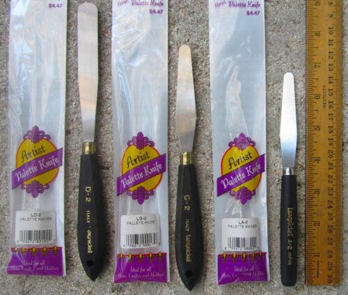 Set of 3 Langnickel Artist Palette Knive: #