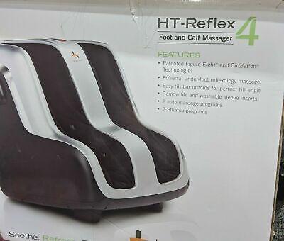 Human Touch Reflex4 Targeted Relief Foot & Calf Shiatsu Massager 200-REFLEX4-001