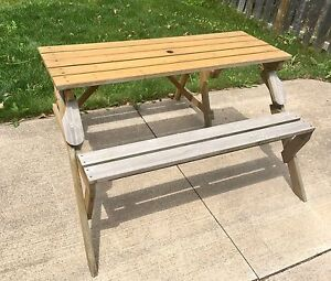 Picnic Table & Park Bench (2 in 1)