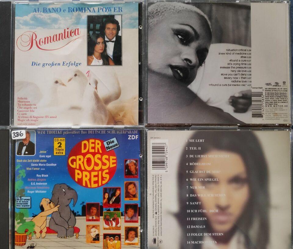 17 Musik CDs Cher Hits Lotti Soul Andrea Berg Tic Tac Toe etc. in Ahrensburg