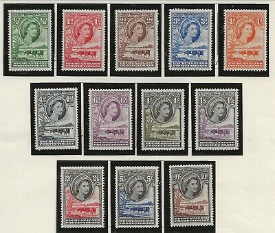 BECHUANALAND Sc 154-65 NH issue of 1955 - ANIMALS