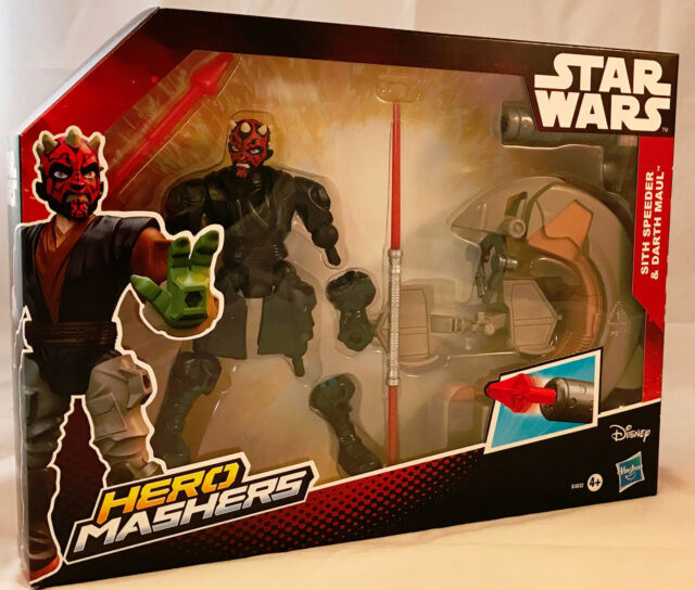 Star Wars Hero Mashers - Darth Maul Figure & Sith Seeder