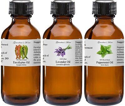 4 oz Essential Oils - 4 fl oz - 100% Pure and Natural - Therapeutic Grade Oil!