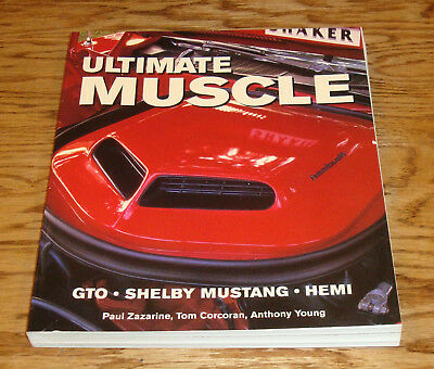 Ultimate Muscle GTO Shelby Mustang Hemi Book Zazarine Corcoran Young for sale  Shipping to India