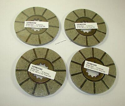 121961c92 1963810c2 International 815 715 1440 1620 1644 Combine Brake Disc Set