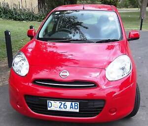 2012 Nissan Micra Hatchback Pipers River George Town Area Preview