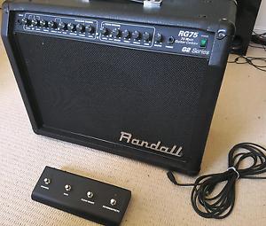 Randall RG75 Combo Guitar Amp Auchenflower Brisbane North West Preview