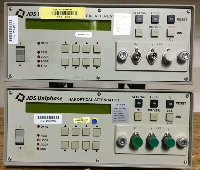 Jds Uniphase  Jdsu Ha9 Ha97e+18kfa1  Programmable Attenuator