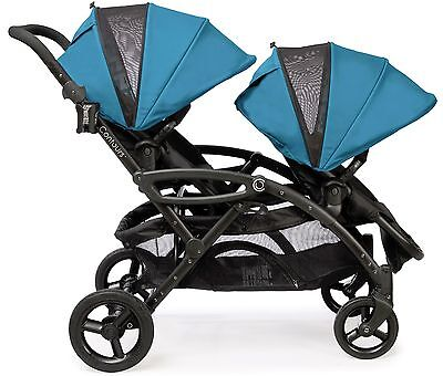 Contours Options Elite Twin Tandem Double Baby Stroller Laguna NEW Upgraded 2016