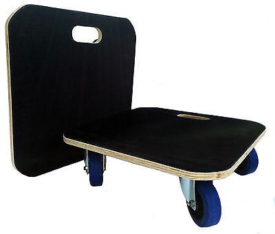 59x59 Furniture Skate Dolly Removal Moving Trolley Platform 600kg ld 10cm wheels