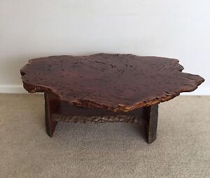 Burl Red Gum Coffee Table (RRP$1,300) Keilor Brimbank Area Preview