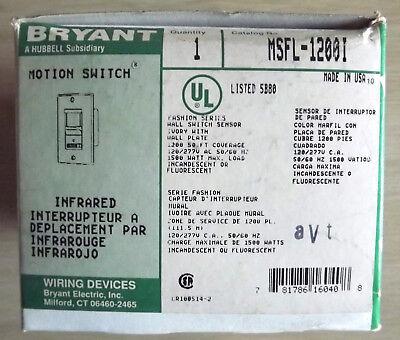 New Bryant Msfl-1200i Motion Switch