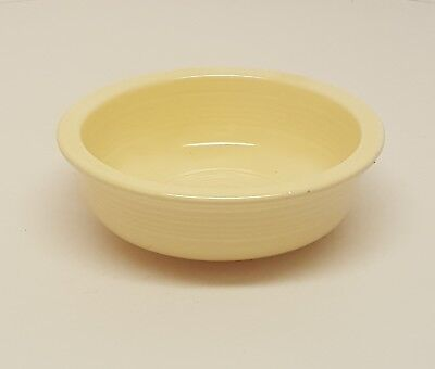 (Vintage Fiestaware Ivory Small Fruit Bowl Fiesta Old Ivory 4 3/4 inch bowl )