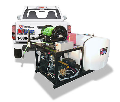 Skid Plate Cold Water Jetter - Pkg C 35hp Vanguard 8.5gpm 3650psi-loadngo